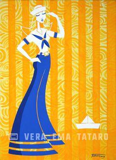 Sailor - acrylic painting on canvas by Vera Ema Tataro