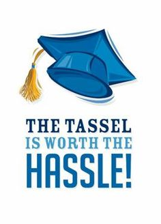 The tassel is worth the hassle! - Click this image and turn your pictures into greeting cards today!