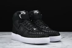 The Nike Air Force 1 Gets Covered In A Woven Upper