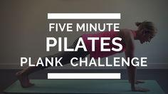 5 Minute Pilates Plank Challenge