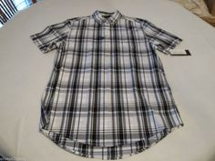 Men's Tommy Hilfiger shirt S small sm Custom Fit  Popover 7853539 Midnight 403 #TommyHilfiger #Popover12button