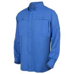 Pacific Blue MicroFiber Shirt - GameGuard Outdoors  - 2