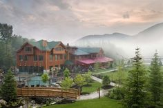 Whiteface Lodge, Lake Placid, NY - can't help but think of Betty White and her alligator though lol