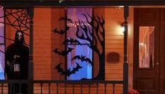 DIY Halloween: DIY Scary Halloween Screens by marsha