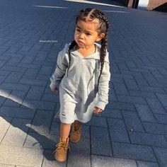 Little girl fashion Cute Little Girls Outfits, Kids Outfits Girls, Toddler Girl Outfits, Toddler Swag, Toddler Girls, Cute Mixed Babies, Cute Black Babies, Cute Kids Fashion, Little Girl Fashion