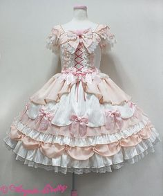 Angelic Pretty Rose Primaジャンパースカート