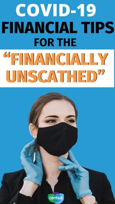"""COVID-19 Financial Tips for the """"Financially Unscathed"""". In this post, I share tips for the second face, the """"financially unscathed"""" who are doing as well, or even better, than before. Below are 10 COVID-19 tips to consider if you have been fortunate enough to be navigating the pandemic without experiencing any major financial effects. #CentSai #financialplanning #personalfinance #moneymatters #moneymanagement"""