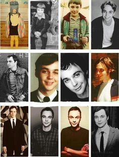 Sheldon cooper/jim parson