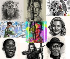 https://www.instagram.com/lamontpounds1/  I constantly keep my Instagram page updated with; artwork, step by step illustrations or the process of my illustrations, animation development work, celebrity art, fanart etc. CHECK IT OUT AND SHOW SOME LOVE! #lovetoall and Peace!  #art #artwork #artist #artistic #illustration #illustrations #celebrityart #celebrityfanart #celebrity #fanart #digitalpainting #digitalpaintings #digitalart #design #designs #animation #concept #conceptart #concepts…