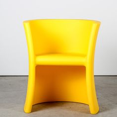 Trioli Chair Yellow, $388, now featured on Fab. Way too expensive for a kid's chair, but cool design!