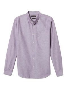 Banana Republic Camden Standard Fit Cotton Stretch Oxford Shirt
