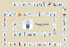 Jeu de l'oie Jeu de l'oie complet Learn English  Apprendre l'anglais Enfant Children