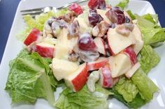 Apple Waldorf Salad Recipe