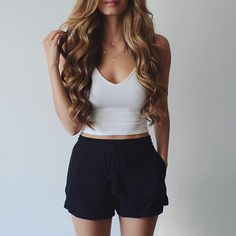 Cute Outfits For Pear Shaped Body via Womens Clothing Sale Perth; Womens Clothes what Cute Outfits To Wear To A High School Graduation Classy Summer Outfits, Lazy Outfits, Summer Fashion Outfits, College Outfits, Outfits For Teens, Teen Fashion, Spring Outfits, Cool Outfits, Casual Outfits