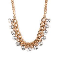 I love the STEPHAN & CO. Chain & Stone Necklace from LittleBlackBag