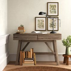 Marsha Writing Desk & Reviews | Birch Lane