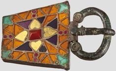 A buckle for a woman's dress, Visigothic Kingdom in Spain, 6th century