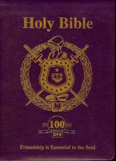 Omega Psi Phi Centennial Edition Bible