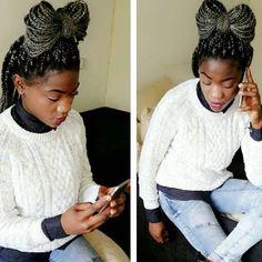 Top 100 single braids photos Laço feito com postiço.😍👌👍feito por mim @jandirahairstyles .já podem 📞📞📞para este numero 0685855539  #hollandhairwest #hair #cabelos #beauty #bonito  #braids #bonita #adore #afro #curlyhair #trancas #trancasafro #singlebraids #apaixonada #moda #bonitas#fashion #boxbraid #bigboxbraid #adorotranças #bonitos #blackpeople #penteado #singlebraid #modelo #hairstyle #selfie #casamento #natural#africans See more http://wumann.com/top-100-single-braids-photos/