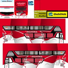 Kumpulan Livery Bimasena SDD (Double Decker) Bus Simulator Indonesia Terbaru Skull Pictures, Joker, Jokers, The Joker