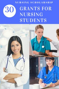 30 Scholarships and Scholarships for Nursing Students 2018 # Online Schools, Cou… – Earn College Scholarships Grants For College, Financial Aid For College, College Goals, College Planning, College Hacks, College Life, Nursing Degree, Nursing Career, Bsn Nursing