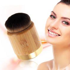 1pc Tart Makeup Brushes Bamboo Handle Loose Brush Powder Foundation Contour Brushes Kabuki Kits  #Affiliate