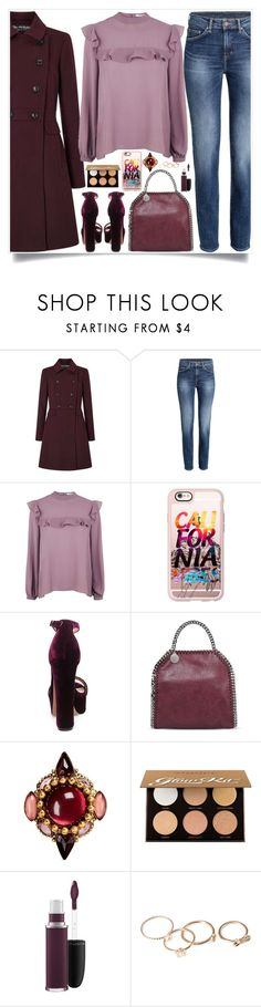 """""""California"""" by itsybitsy62 ❤ liked on Polyvore featuring Glamorous, Casetify, Steve Madden, STELLA McCARTNEY, Erickson Beamon, Anastasia Beverly Hills, MAC Cosmetics, Forever 21, powerbag and thebapgang"""