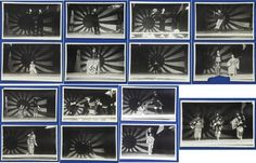 1940's Japanese Photo Cards : Playing Patriotic Wartime Drama at Some Local Army Regiment Festival/ vintage antique girl woman flag ( some playing Nazi Hitler )
