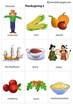 Thanksgiving 2 flashcard