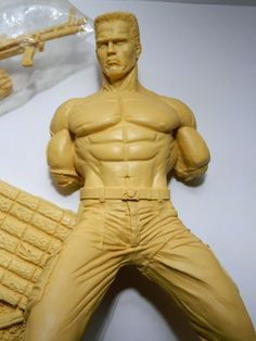 John Matrix Commando Resin kit Matrix, Kit, Resin, Statue, Ebay, Sculptures, Sculpture