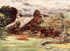 Walker, Francis S. (1848-1916) - Poets' Country 1907, Dove Cottage, Grasmere (Wordworth' s house). #england