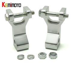 KEMiMOTO Aluminum ATV Front Lowering Kit for Honda Trx 400Ex Silver