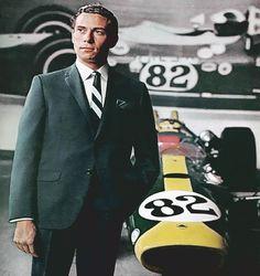"""James """"Jim"""" (or """"Jimmy"""") Clark, Jr OBE (4 March 1936 – 7 April 1968) 25 wins in 72 Grand Prix."""