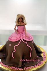 Barbie Dress Cake Dress Cake, Barbie Dress, Aurora Sleeping Beauty, Party Ideas, Cakes, Disney Princess, Disney Characters, Desserts, Tailgate Desserts
