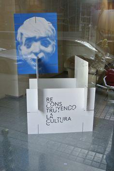 entrada a la exposición. Mitte barcelona