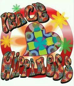 Hippie Peace Sign Art ✌❤
