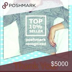 I'm A Top 10% seller!!!!💞🎉 I have come to love Posh more than ever! all Other