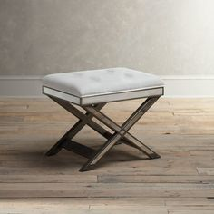Montgomery Mirrored Vanity Stool