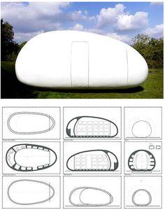 Blob VB3, prefab cottage?