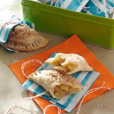 Caramelized Apple Hand Pies | Caramelized apples are tucked in a hand-held pie that no one expects you to share!