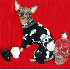 Skeleton PJ's for your little tuff guy or girl!