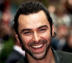 Aidan Turner and that smile!