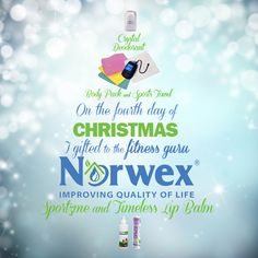 Giving a fitness-related gift can sometimes be tricky—you don't want the recipient to think you're trying to…hint at something. For those on your list who play sports or workout regularly, try the Norwex Sportzyme, Sport Towel, Body Pack, Crystal Deodorant and Lip Balm. Your gift is sure to be a hit for the fitness fanatic on your list.