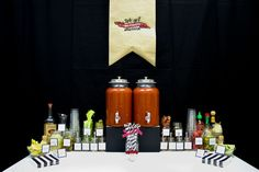 Bloody Mary Bar - Day After Wedding Brunch