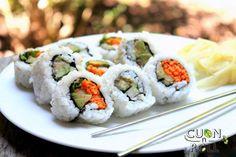 Cách làm sushi chay đơn giản, hấp dẫn  Thức ăn chay với những nguyên liệu rau củ quả tự nhiên chắc chắn là lựa chọn số 1 của những bà nội trợ thông minh. Hướng dẫn cách làm sushi chay đơn giản mà vô cùng ngon, hấp dẫn...