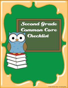 Common Core Standards ELA & Math Checklist for Grade is part of subjects Common Cores - Social Studies, Science, and Technical Subjects, and Math These checklists can be used to keep track of which standards are taught per l Common Core Ela, Common Core Curriculum, Common Core Standards, Eighth Grade, Seventh Grade, Second Grade, Grade 2, Common Core Checklist, Teaching Reading