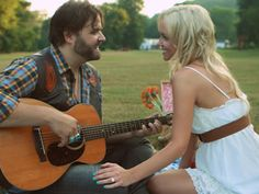 Randy houser...but I would totally snag this for an engagement picture idea. Gotta have my guitar! :)
