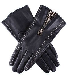 Dents Ladies Leather Gloves - Lyst