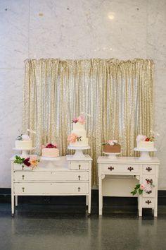 Katy Depot Wedding by Matt and Julie - Southern Weddings Magazine Wedding Trends, Wedding Blog, Diy Wedding, Dream Wedding, Wedding Cakes, Sparkly Cake, Floral Event Design, Wedding Cake Inspiration, Bridal Show