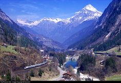 RailPictures.Net Photo: Cisalpino AG ETR 470 at Wassen, Switzerland by SpirosN.